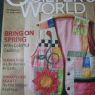 Quilter's World April 2009 Magazine