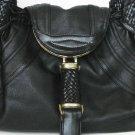WHITE Detective spy Celebrity WOVEN Handbag Purse Bag
