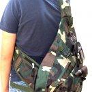 Messenger CAMO Sling Body BACKPACK Gym Travel Pockets