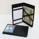 LEATHER MONEY Ticket Cards Smart Wallet Safely Holder