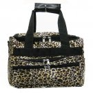 LEOPARD ANIMAL DUFFLE BAG LUGGAGE CARRY ON OVERNIGHT 13
