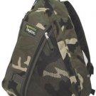 Camo Messenger Gym Travel Sling Body Backpack 303