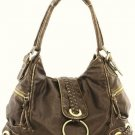 Bronze Washed Inspired Designer Ring Purse Handbag