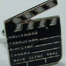 New Novelty CUFFLINKS HOLLYWOOD PRODUCERMOVIE DIRECTOR CLAPPER TV New