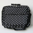 "14/15.4"" Black White Polka Dots  Laptop Case Notebook Bag"