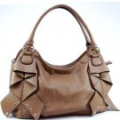 Brown Designer Decor Inspired Premium Tote Handbag New