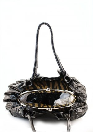 GreenDesigner  Print Inspired Kisslock Western Zebra Handbag Purse