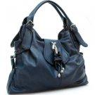 Blue  Designer Charm Celebrity Style hobo bag Handbag