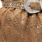 Light Blue STUDS Inspired Rhinestone Bag Designer Handbag Tote