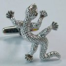 New Novelty Fashion Gift High quality Lizard Animal Fun Party  Men's Cufflinks