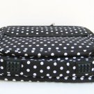 """14/15.4"""" Brown and White Polka Dots Laptop Case Notebook Bag"""