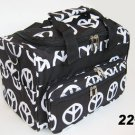 PEACE DUFFLE BAG LUGGAGE CARRY ON OVERNIGHT 22""