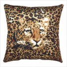 Leopard Print Accent Pillow