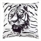 Tiger Print Accent Pillow