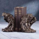 EAGLE BRONZE BOOKENDS