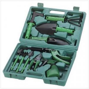 Deluxe Garden Tool Set & Carrying Case
