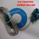 USB 2.0 to RS-232 RS232 Converter Adapter Serial Cable