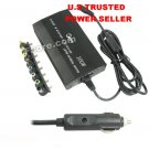 CAR UNIVERSAL LAPTOP/NOTEBOOK DC POWER CHARGER ADAPTER