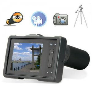 40x Zoom Monocular Telescopic Digital Camera with 2.5 Inch LCD Display