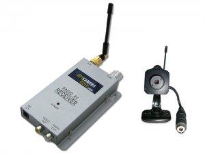 Wireless Pinhole Spy Camera and Receiver, Original Tiny Hidden Cams
