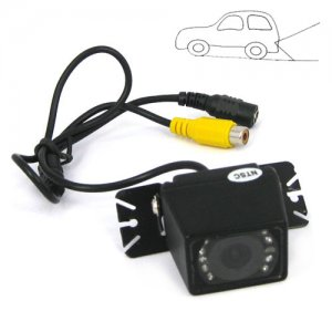 NTSC Mode Adjustable Angle Car Rear View Color CMOS Camera
