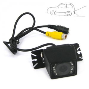 PAL Mode Adjustable Angle Car Rear View Color CMOS Camera