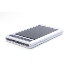 2600mAh Solar Power Charger& Flashlight for Gadgets