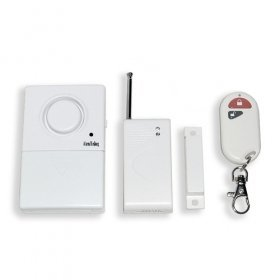 Magnetism wireless alarm with remote control(for gates)