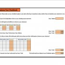BALANCE YOUR CHECKBOOK AUTOMATICALLY THE FAST,EASY WAY