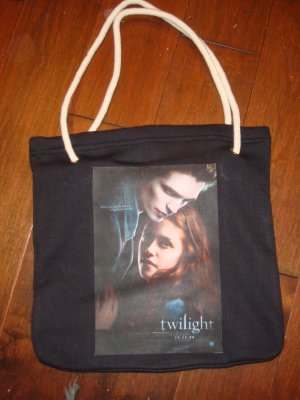 Twilight Official Movie Poster Bag