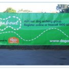 Super Big Outdoor vinyl banner sign with complete advertising printing
