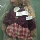 Retired Boyds 1997 Velma Q. Berriweather Plush FOB Club Mint