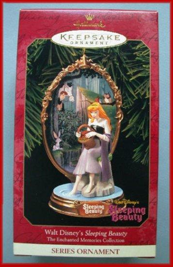1999 Hallmark Ornament Disney Enchanted Sleeping Beauty