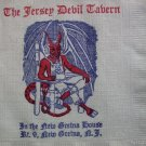 Old South Jersey Devil Tavern Paper Cocktail Bar Napkin