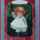 1998 Hallmark Ornament Madame Alexander Mop Top Wendy