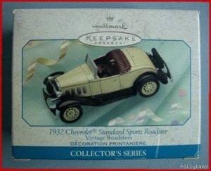 1999 Hallmark Vintage 1932 Chevrolet Standard Roadster 2nd
