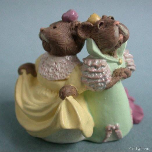 1998 Hallmark Merry Miniature Stepsisters Of Cinderella