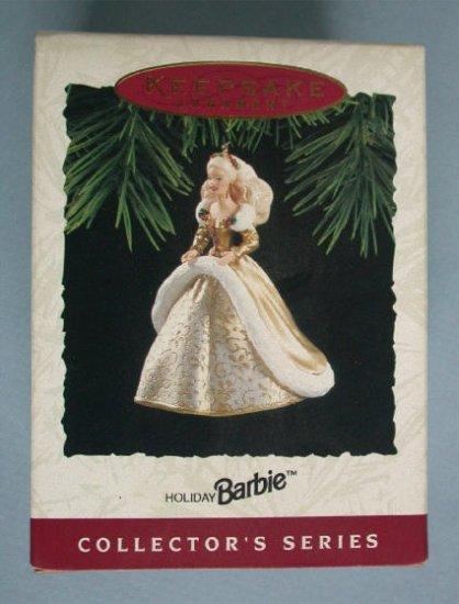 1994 Hallmark Ornament Holiday Barbie 2nd Series