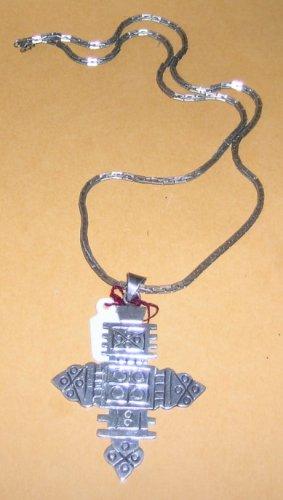 Coptic Cross Replica on Vintage SS Chain