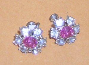 Vintage Paste Earrings