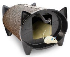 Brinsea ScratchKabin Cat Bed & Scratcher with Toy Sisal Mouse