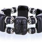 Black Engraved Designer Bracelet