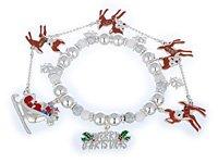 Rudolph the Red Nose Reindeer Bracelet
