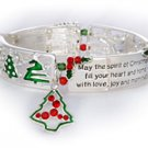 """Spirit of Christmas"" Message Bracelet"