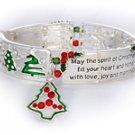 """Spirit of Christmas"" Message Bracelet"