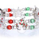 Double Stretch Snowman Bracelet