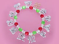 """12 Days of Christmas"" Bracelet"