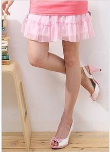 B0002 (pink ruffle skirt)