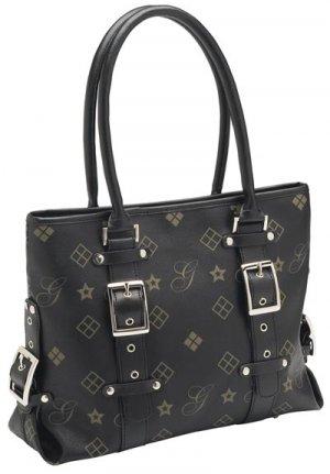 Giovanni Navarre Ladies Black Handbag.
