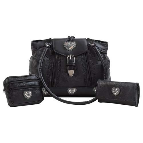 Embassy� 3pc Purse Set with Wallet and Make-Up Bag